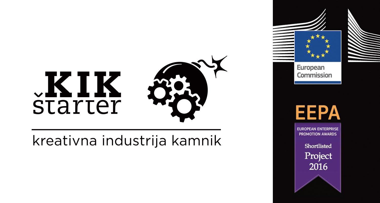 Mladinski center Kotlovnica je s projektom KIKštarter postal finalist European Enterprise Promotion Awards (EEPA)