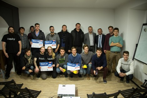 Startup weekend Kamnik: Zmagali so pametni stožci!