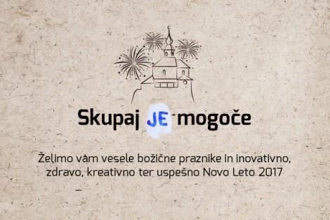 Novoletno voščilo predsednika Podjetniškega kluba Kamnik