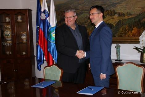 Podpisan protokol o sodelovanju med Občino Kamnik in Podjetniškim klubom Kamnik