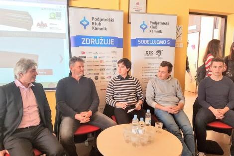 Podjetniški klub Kamnik organiziral podjetniško okroglo mizo za dijake GSŠRM Kamnik