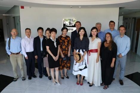 Gospodarska delegacija iz Kitajske obiskala Kamnik in uspešna kamniška podjetja