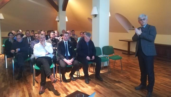 Prvo srečanje članov Podjetniškega kluba Kamnik z novim predsednikom in novim županom Občine Kamnik