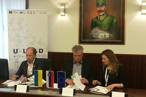 Srečanje članov Podjetniškega kluba Kamnik z ukrajinsko gospodarsko delegacijo