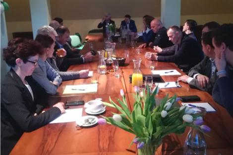 Predstavitveno srečanje članov Podjetniškega kluba Kamnik – član članu