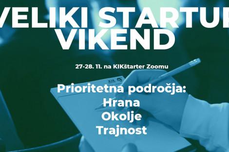 KIKštarter startup vikend in predstavitev poslovnih idej pred naložbeno komisijo Kikštarter pospeševalnika